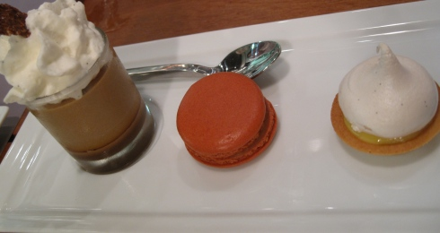 coffe, caramel, lemon
