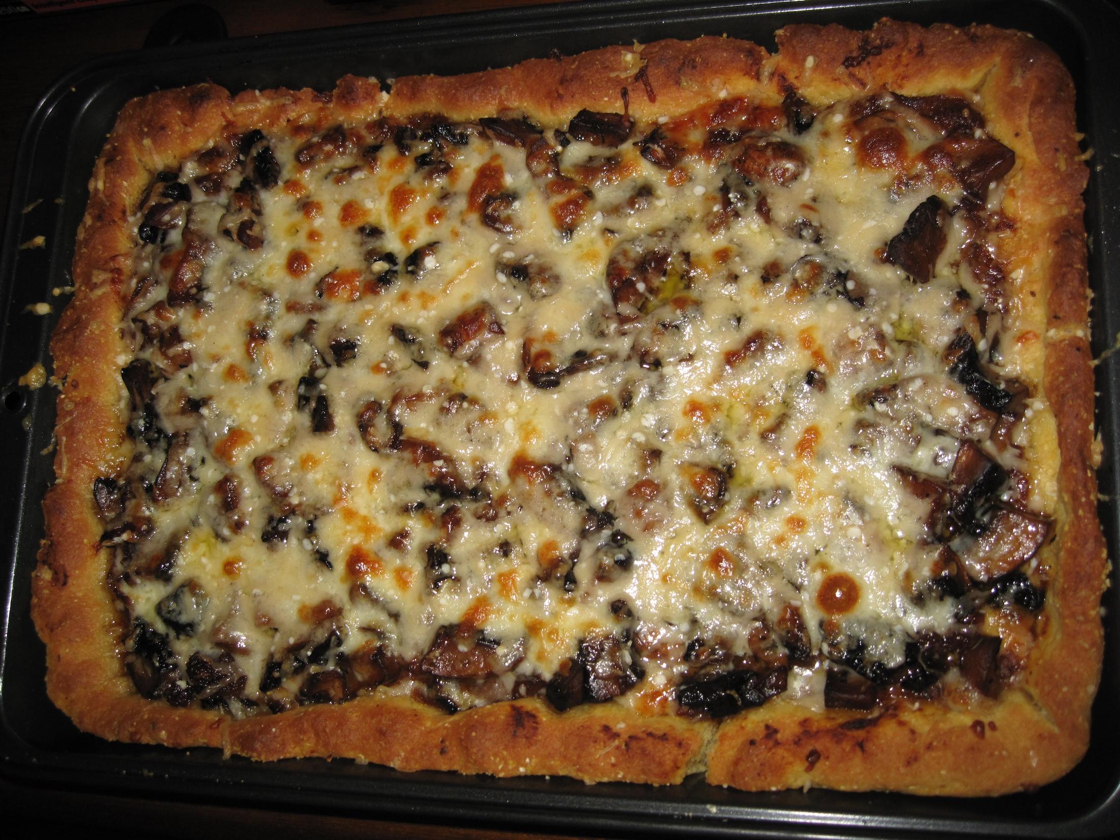Deep Dish Spinach Pizza Recipe ItalianFoodcom