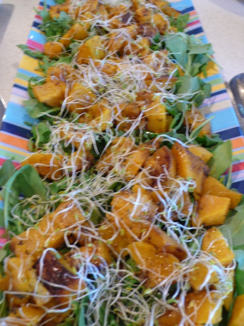 Roasted Butternut + Arugula