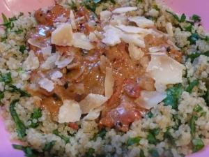 Spinach + Quinoa