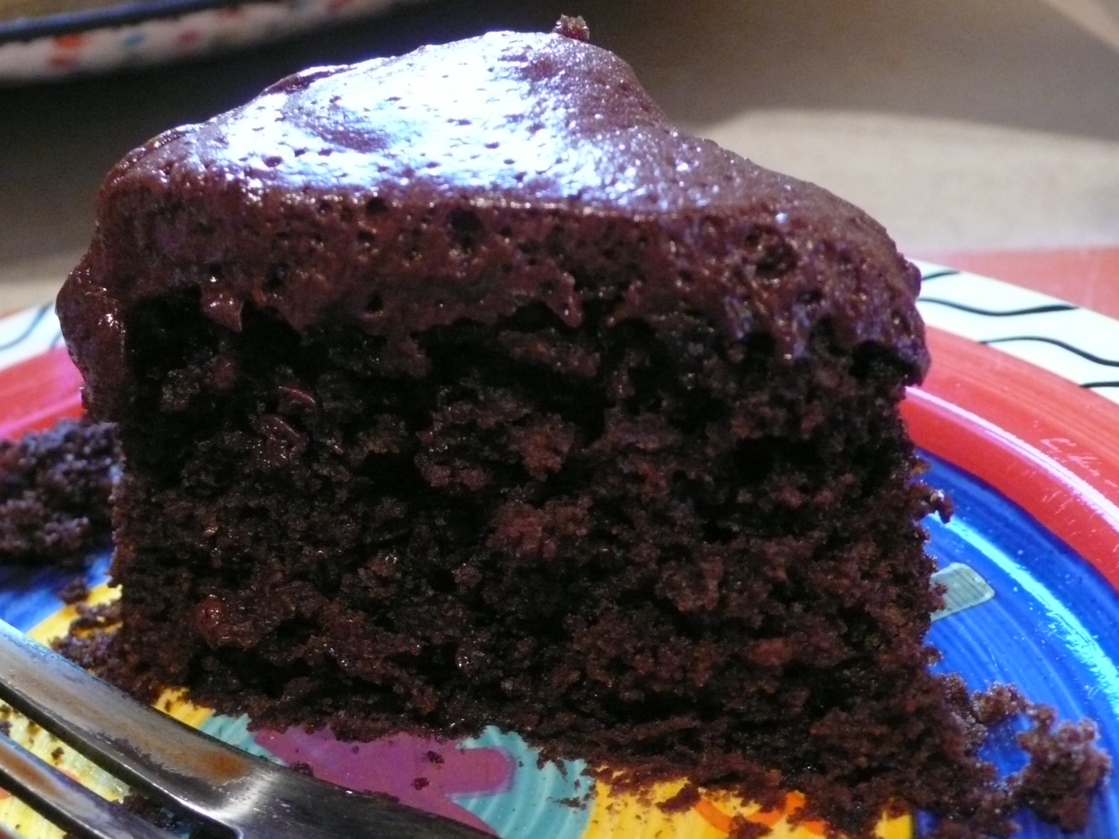 Vegan Chocolate Cake | delectable