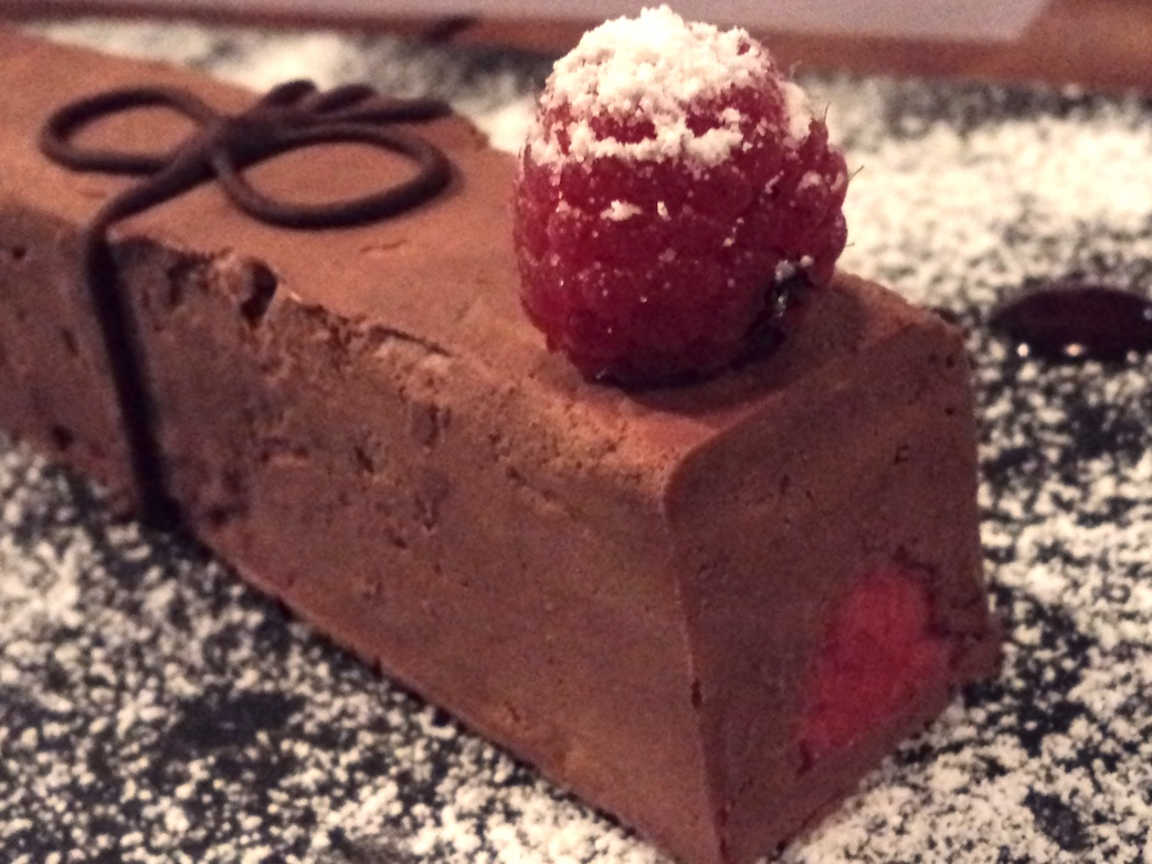 Frozen Chocolate Raspberry Mousse Recipe — Dishmaps